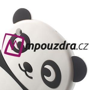 3D Silikonové pouzdro na iPad mini 2 - černá panda - 5