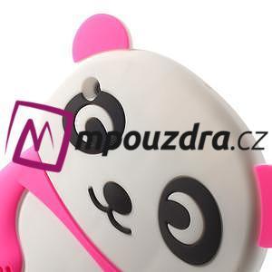 3D Silikonové pouzdro na iPad mini 2 - růžová panda - 5