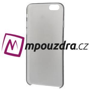 Ultra slim 0.3 mm plastové pouzdro na iPhone 6, 4.7  - černé - 5