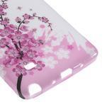 Gelové pouzdro na Samsung Galaxy Note 4- kvetoucí větvička - 5/5