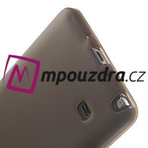 Gelové pouzdro na Samsung Galaxy Note 4- šedé - 5
