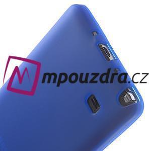 Gelové pouzdro na Samsung Galaxy Note 4- modré - 5