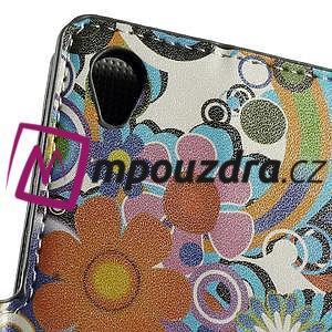 Peněženkové pouzdro na Sony Xperia Z3 D6603 - barevné vzory - 5