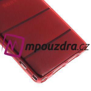 Gelové Body pouzdro na Sony Xperia Z1 C6903 - červené - 5