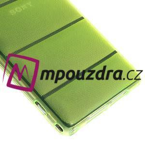 Gelové Body pouzdro na Sony Xperia Z1 C6903 - zelené - 5