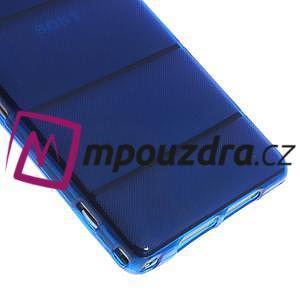 Gelové Body pouzdro na Sony Xperia Z1 C6903 - modré - 5