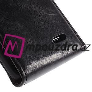 Flipové pouzdro na LG L65 D280 - černé - 5