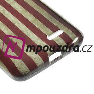 Gelové pouzdro na LG L65 D280 - USA vlajka - 5
