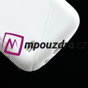 Gelové S-line pouzdro pro Samsung Galaxy S4 mini i9190, i9192, GT-i9195 - bílé - 5