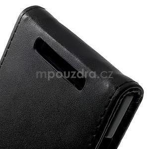 Flipové pouzdro na Nokia Lumia 830 - černé - 5