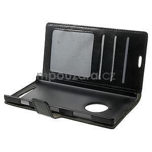 Peněženkové pouzdro na Nokia Lumia 830 - černé - 5