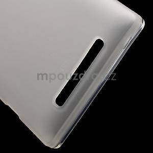 Gelové matné pouzdro na Nokia Lumia 830 - transparentní - 5