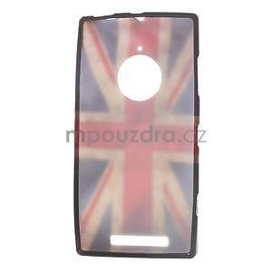 Gelové pouzdro na Nokia Lumia 830 - UK vlajka - 5