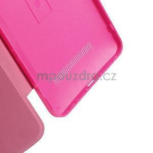 Flipové pouzdro na Asus Zenfone 5 - růžové - 5