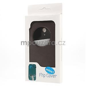 Flipové pouzdro na Asus Zenfone 5 - coffee - 5