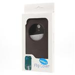 Flipové pouzdro na Asus Zenfone 5 - coffee - 5/5