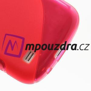 Gelové S-line pouzdro pro Samsung Galaxy S4 mini i9190, i9192, GT-i9195 - rose - 5