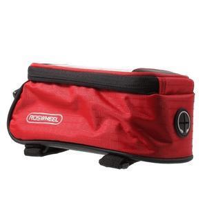 Brašna na kolo s úložným prostorem pro mobily do rozměru 138,3 x 67,1 × 7,1 mm - červená - 5