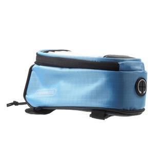 Brašna na kolo s úložným prostorem pro mobily do rozměru 138,3 x 67,1 × 7,1 mm - modrá - 5