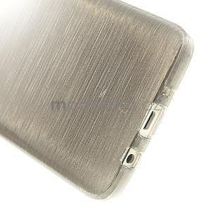 Broušené pouzdro na Samsung Galaxy A3 - šedá - 5