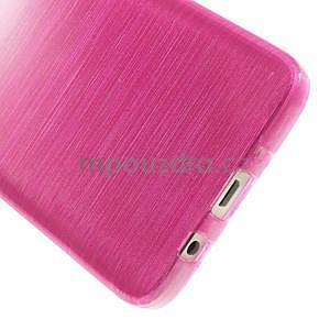 Broušené pouzdro na Samsung Galaxy A3 - rose - 5