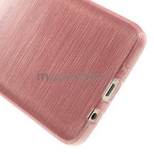 Broušené pouzdro na Samsung Galaxy A3 - růžová - 5