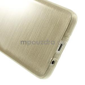 Broušené pouzdro na Samsung Galaxy A3 - zlatá - 5