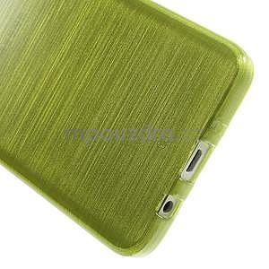 Broušené pouzdro na Samsung Galaxy A3 - zelená - 5