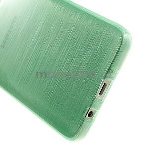 Broušené pouzdro na Samsung Galaxy A3 - světle zelená - 5