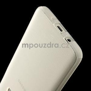 Broušené pouzdro na Samsung Galaxy A3 - bílá - 5