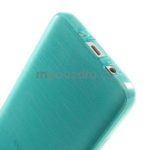 Broušené pouzdro na Samsung Galaxy A3 - tyrkysová - 5
