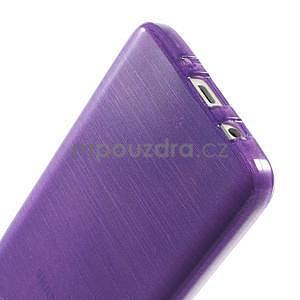 Broušené pouzdro na Samsung Galaxy A3 - fialová - 5