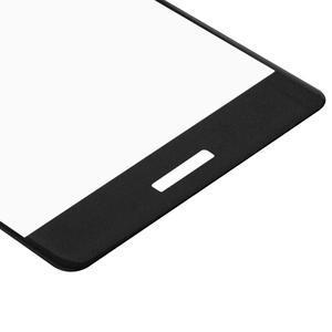 Protinárazové celoplošné tvrzené sklo na mobil Huawei P9 - černé - 5