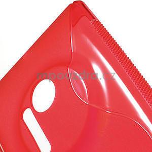 Gelové S-line pouzdro pro Nokia Lumia 1020- červené - 5