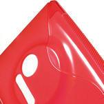 Gelové S-line pouzdro pro Nokia Lumia 1020- červené - 5/5