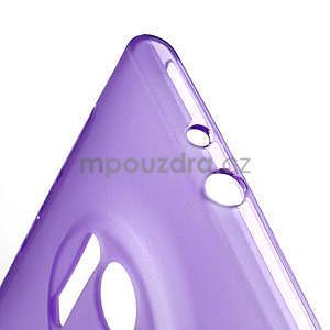 Gelové S-line pouzdro pro Nokia Lumia 1020- fialové - 5