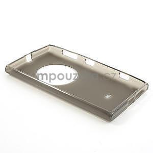 Gelové matné pouzdro pro Nokia Lumia 1020- šedé - 5
