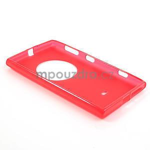 Gelové matné pouzdro pro Nokia Lumia 1020- červené - 5