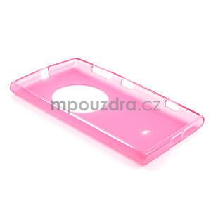 Gelové matné pouzdro pro Nokia Lumia 1020- růžové - 5