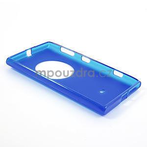 Gelové matné pouzdro pro Nokia Lumia 1020- modré - 5