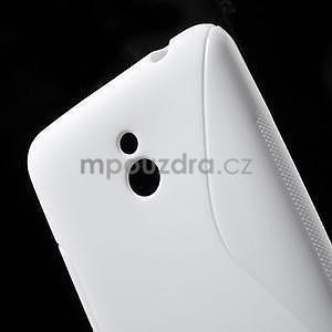 Gelové S-line pouzdro pro Nokia Lumia 1320- bílé - 5