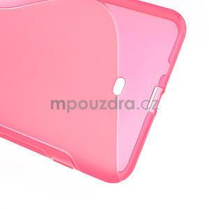 Gelové S-line pouzdro pro Nokia Lumia 1320- růžové - 5