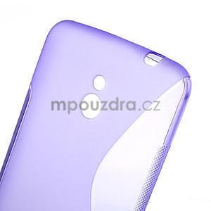 Gelové S-line pouzdro pro Nokia Lumia 1320- fialové - 5