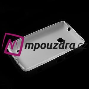 Gelové matné pouzdro na Nokia Lumia 520 - bílé - 5