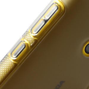 Gelové S-line pouzdro na Nokia Lumia 520- šedé - 5