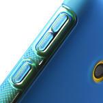 Gelové S-line pouzdro na Nokia Lumia 520- modré - 5/6
