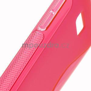 Gelové S-line pouzdro pro HTC Desire 600- červené - 5