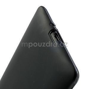 Gelové matné pouzdro pro HTC Desire 600- černé - 5
