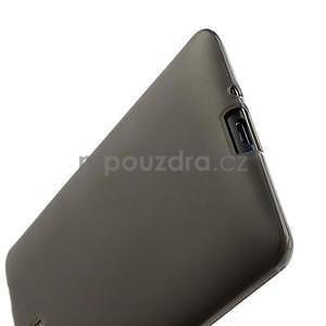 Gelové matné pouzdro pro HTC Desire 600- šedé - 5
