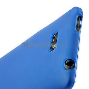 Gelové matné pouzdro pro HTC Desire 600- modré - 5